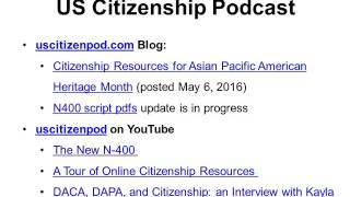 2016-05-17 Citizenship and Immigration News