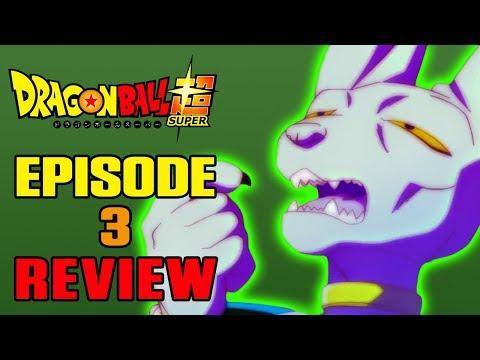 Dragon Ball Super Episode 3 REVIEW   SLIPPERY SLOPE   MasakoX
