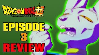 Dragon Ball Super Episode 3 REVIEW | SLIPPERY SLOPE | MasakoX
