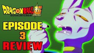 Dragon Ball Super Episode 3 REVIEW | SLIPPERY SLOPE | MasakoX