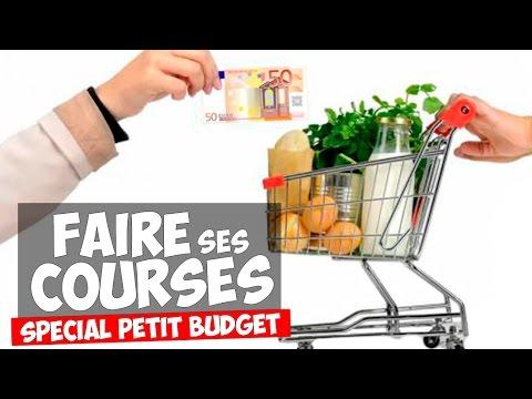 FAIRE SES COURSES POUR LA MUSCULATION AVEC 50 EUROS !
