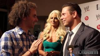 Sam Roberts with The Miz & Maryse - fans, leaving WWE, & more