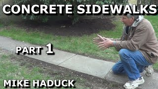 How I pour a concrete slab (Part 1 of 5)  Mike Haduck