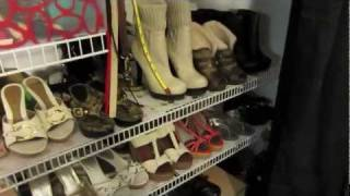 How To Organize Your Closet - Shoe, Purses, And Accessories Edition