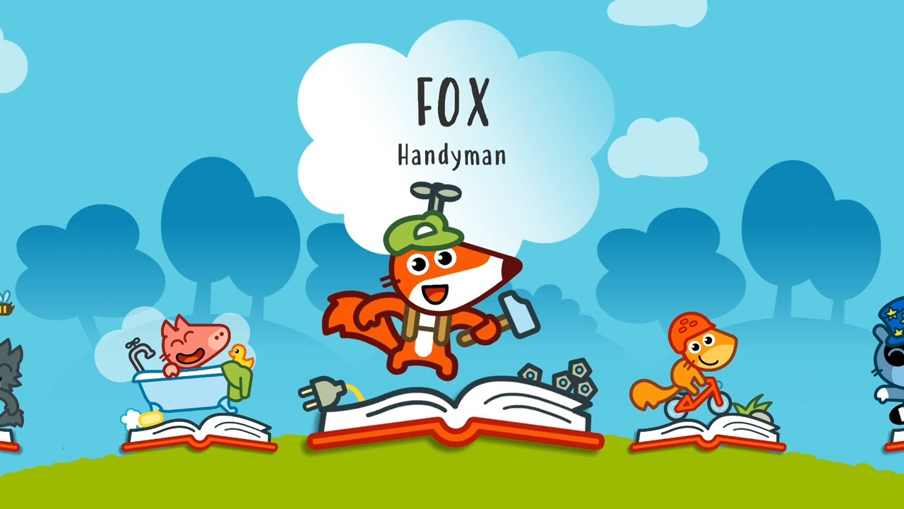 Download Pango Storytime #6 - Fox Handyman | Studio Pango Interactive Stories and Games For Kids