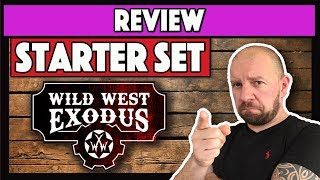 Wild West Exodus Starter Set Review Gunfight at Red Oak