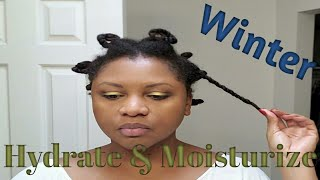 Natural Haircare Winter Routine
