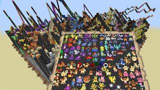 Pokémon - 18.5hour Time-Lapse - Pixel Art with Minecraft Map