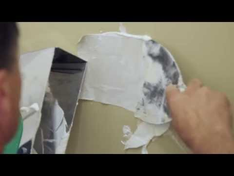 USG Surfaces: How To Repair a Drywall Hole Using the California Patch