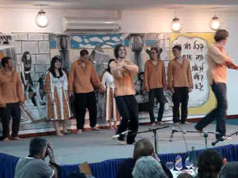 Pesach 2009 - Kibbutz Nir-Oz, Volunteers