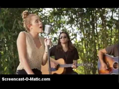 miley cyrus backyard sessions - YouTube