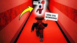 I FOLLOWED THE BEAST AROUND! (Roblox Flee The Facility)
