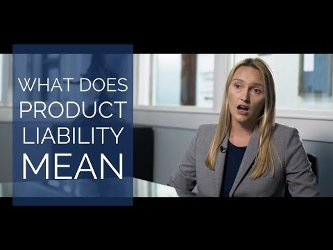 What does product liability mean? | San Diego Personal Injury Attorneys