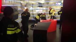NOS Studios - Polizei stürmt TV Sender - bewaffnete Geiselnahme 29.01.2015 - Niederlande