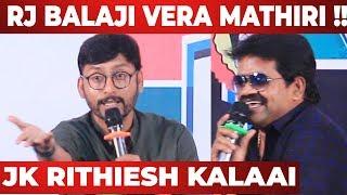 JK Rithiesh Funny Speech