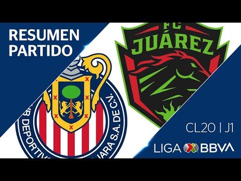 Resumen y Goles   Guadalajara vs Jurez   Jornada 1 - Clausura 2020   Liga BBVA MX