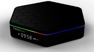 sunvell t95z plus android tv box unboxing review