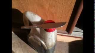 Закалка ножа из напильника. Четвертая и завершающая часть