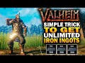 Gambar cover Simple Trick To Get UNLIMITED Iron Ingots In Valheim - Valheim Tips And Tricks