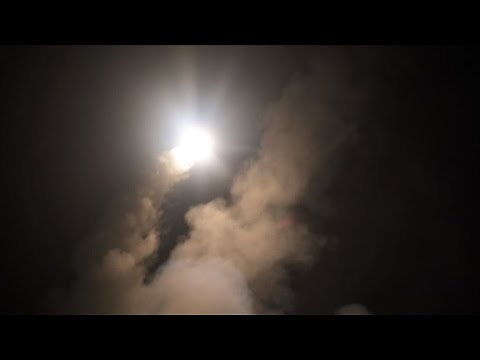 US Department of Defense releases images of Syria strikes