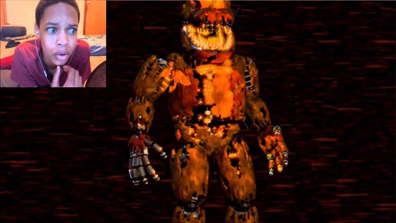 Fnaf 4 Jack O Bonnie Voice Reaction Pumpkin Bunny Youtube