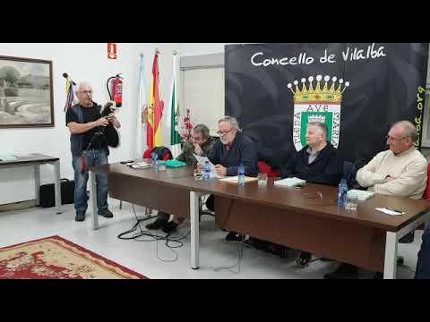 Mero Iglesias presenta en Vilalba o seu libro 'No perfil das verbas'