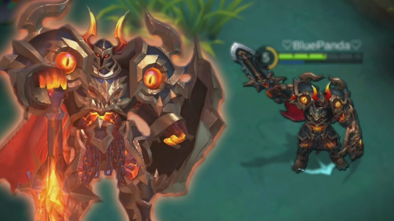NEW Tigreal SKIN Gameplay Fallen Guard Mobile Legends