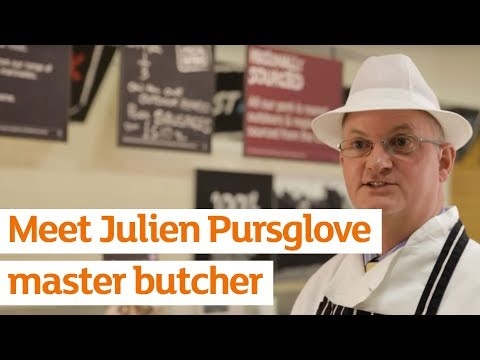 Meet Sainsbury's Master Butcher, Julien Pursglove