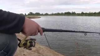 Рибалка на Рожнятівському водосховищі