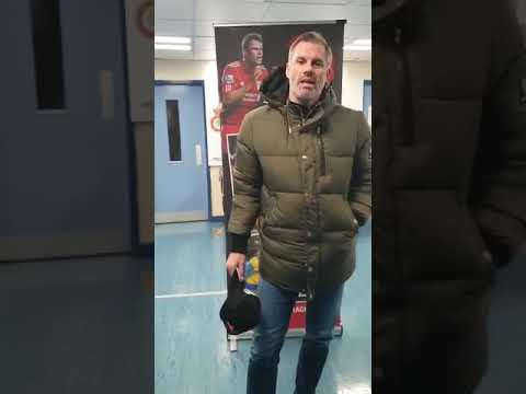 Message from Jamie Carragher