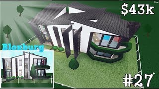 WELCOME TO BLOXBURG - UPGRADE STARTER HOUSE - MODERN HOUSE - ROBLOX #27
