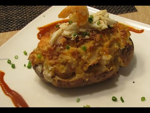 seafood twice baked potato
