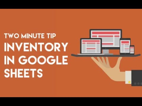 Google Sheets Equipment Inventory