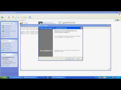 Installing ACDSee Photo Manager 12