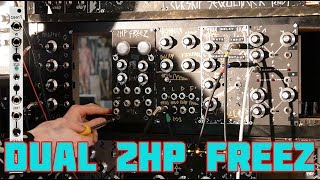 2HP FREEZ DUAL MACRO FREEZ SYNTH MODULE