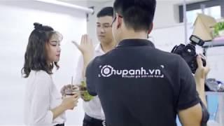Hậu trường chụp ảnh thương hiệu now.vn