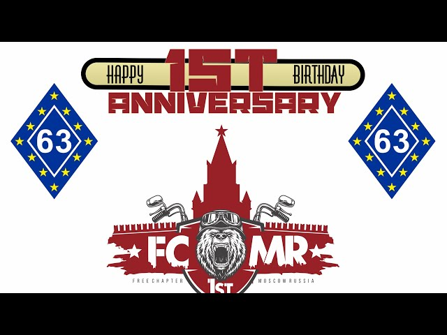 1st Anniversary  Free Chapter 1st Moscow Russia