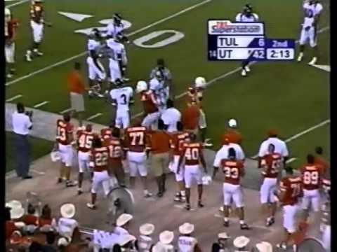 Texas v Tulane 2003