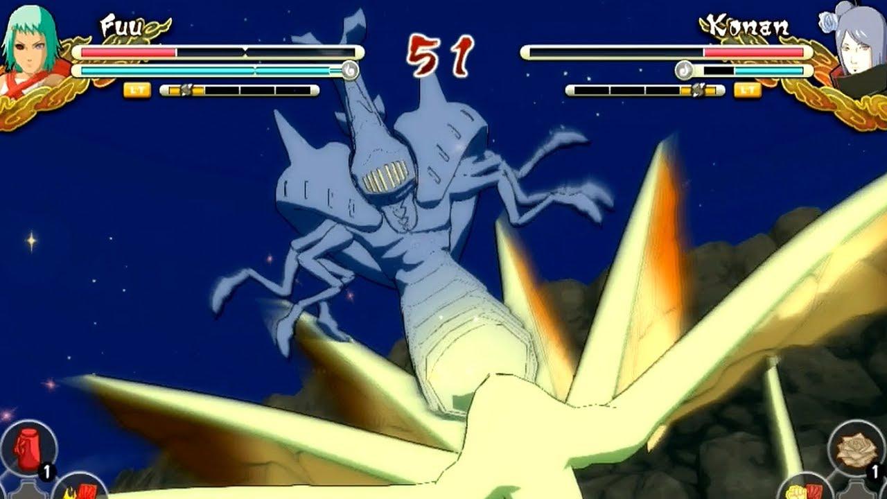 Naruto Ultimate Ninja Storm 3 Jinchuriki Fight 7 Tails Fuu
