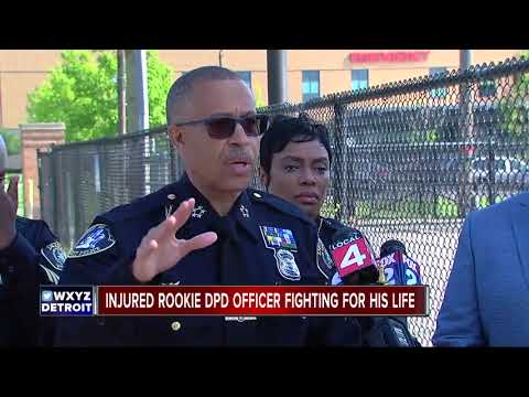 Rookie DPD officer critically hurt in hit-and-run crash