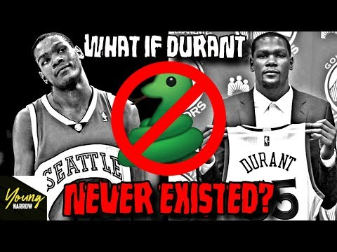 WHAT IF KEVIN DURANT NEVER EXISTED?!? (In The NBA) NO MORE SNAKES!!