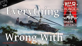 "Everything Wrong With War Thunder 1.93 ""Shark Attack"" in Super Rushed Minutes or Less"