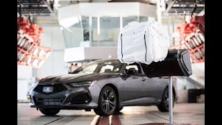 Acura Debuts 3-Chamber Passenger Airbag