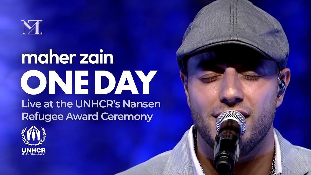 Maher Zain - One Day | Live at UNHCR's Nansen Refugee Award Ceremony
