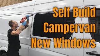 Mercedes Sprinter Camper Van - Windows