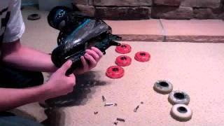 How to remove, replace, and install roller hockey wheels and bearings