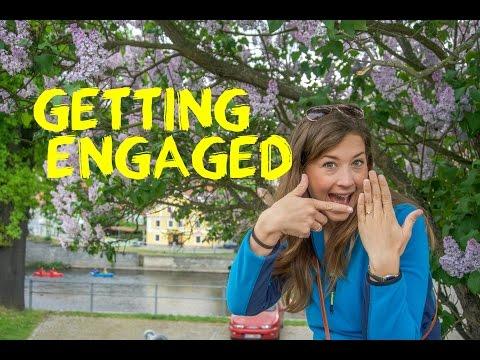 Engagement!! Český Krumlov Czech Republic - Europe Road Trip Travel Vlog