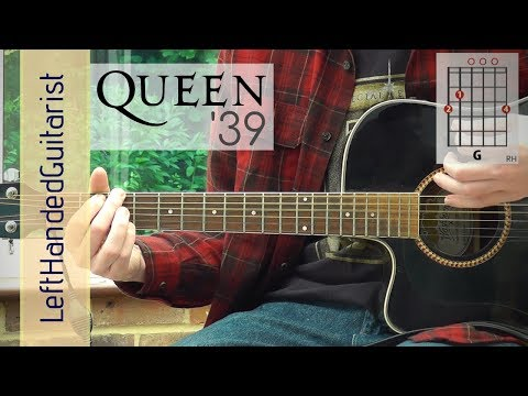 Queen  39 guitar lesson: intermediate guitar