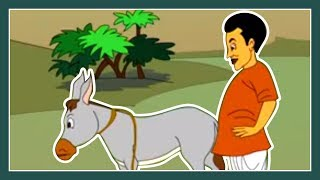 Thakurmar Jhuli | Gadhar Buddhi | Bengali Moral Story | Bangla Cartoon | Part 2