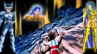 Saga de Asgard - Saga de Geminis le habla a Seiya - (Español Latino)
